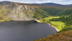 Lough Tay (Guinness Lake), County Wicklow